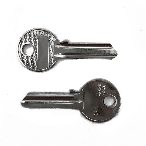 La chiave seghettata tradizionale