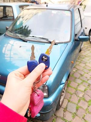 La chiave dell'auto